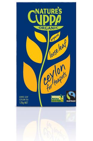 Natures Cuppa Organic Ceylon Tea